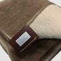 Одеяло Верблюд Капучино Коричневый Капучино Беж. Шерстяное тканое одеяло. 30% верблюжий пух, 70% открытая шерсть мериноса. ТМ Magicwool (Монарх), Россия