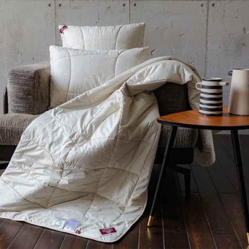 ORGANIC HEMP GRASS Легкое стеганое одеяло. Конопляное волокно, льняное волокно. German Grass (Герман Грасс), Австрия