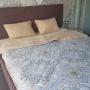 Одеяло Верблюд Капучино Узоры. Шерстяное тканое одеяло. 30% верблюжий пух, 70% открытая шерсть мериноса. ТМ Magicwool (Монарх), Россия