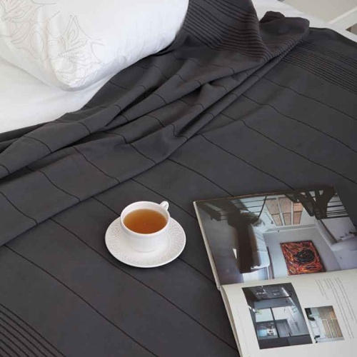 Simple (антрацит) Простынь махровая. Состав 100% хлопок. Ткань махра. Luxberry (Люксберри), Португалия