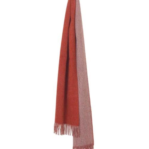 4121-His-&-Her-Rusty-redlight-grey Шарф 100% шерсть беби альпака. Elvang (Элванг), Дания