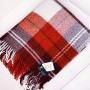 Авалон Шерстяной плед с кистями. 100 новозеландская овечья шерсть. Производитель Klippan Saule, Латви