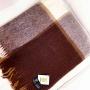 Милан Шерстяной плед с кистями. 100 новозеландская овечья шерсть. Производитель Klippan Saule, Латвия