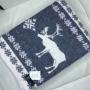 Одеяло «Лапландия». Теплое тканое одеяло. 100 открытая новозеландская овечья шерсть. Производство KLIPPAN SAULE, Латвия