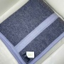 Одеяло «Серо-Белый». Теплое тканое одеяло. 100 открытая новозеландская овечья шерсть. Производство KLIPPAN SAULE, Латвия