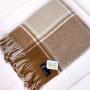 Верона Шерстяной плед с кистями. 100 новозеландская овечья шерсть. Производитель Klippan Saule, Латвия