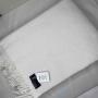 Жемчуг Шерстяной плед с кистями 100 шерсть новозеландских ягнят. Производитель Klippan Saule, Латвия