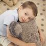 Медведь серая. Подушка детская декоративная. 100 хлопок. Lorena Canals, Испания