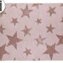 Детский стираемый ковер «Звезды» лаванда. Состав 100% хлопок. Производитель ТМ «Lorena Canals» , Испания