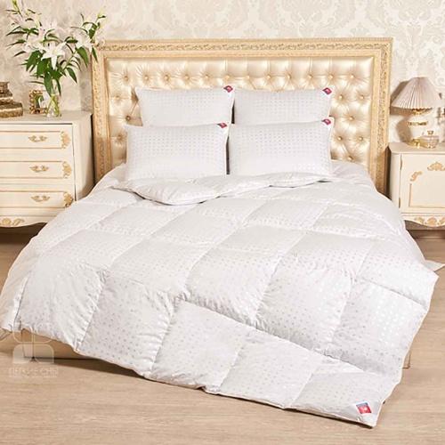 «Афродита». Легкое пуховое кассетное одеяло. 90% серый гусиный пух (экстра), 10% перо. Лёгкие сны, Россия