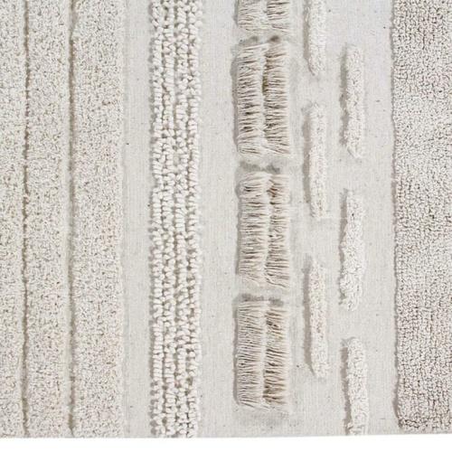 Детский стираемый ковер «Воздушные дюны белые». Состав 100% хлопок. Производитель ТМ «Lorena Canals» , Испания