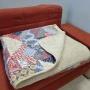 Одеяло Меринос Облако Бежевое-Хлопок Фантазия. Шерстяное тканое одеяло. 100% открытая шерсть мериноса. ТМ Magicwool (Монарх), Россия