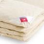 «Камелия» бежевое. Пуховое кассетное одеяло. 90% серый гусиный пух (экстра), 10% перо. Лёгкие сны, Россия