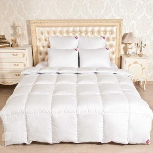 «Лоретта». Легкое пуховое кассетное одеяло. 95% серый гусиный пух (экстра), 5% перо. Лёгкие сны, Россия