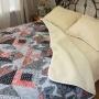 Одеяло Меринос ЛоконХлопок Фантазия. Шерстяное тканое одеяло. 100% открытая шерсть мериноса. ТМ Magicwool (Монарх), Россия