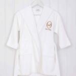 «СОБАЧКИ» детский махровый халатик. 100% хлопок. ТМ «Luxberry» («Люксберри»), Португалия
