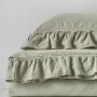 Постельное белье KARNA хлопок STONEWASH (бежевый). Ткань вареный хлопок. Состав 100% хлопок. Производство ТМ «KARNA» («Карна»), Турция