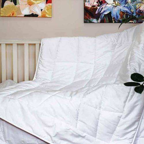 «Baby Bio Cotton». Детское всесезонное хлопковое стеганое одеяло. Хлопковое волокно. Сатин (Fine sateen), 100% Хлопок. ТМ «German Grass» («Герман Грасс»), Австрия