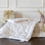 «Baby Silk Coсoоn». Детский комплект. Теплое шелковое стеганое одеяло. Подушка низкая. Наполнитель 70% натуральный шелк высшего класса Mulberry, 30% хлопок. German Grass (Герман Грасс), Австрия