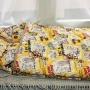 Детский шерстяной конверт-одеяло Мишки. Состав 100% шерсть мериноса. ТМ «MagiсWool», Россия