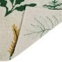 Детский стираемый ковер «Ботанические растения» зеленый. Состав 100% хлопок. Производитель ТМ «Lorena Canals» , Испания