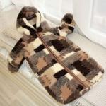 «Кантри». детский шерстяной конверт. Состав 100% шерсть мериноса. ТМ «MagiсWool», Россия