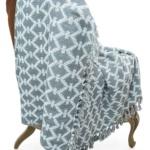 «Марокко» (серый) 180х220см. Покрывало 100% хлопок («soft-touch»). Производство ТМ «CTIM», Индия