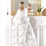 Trois Couronnes Courtier. Всесезонное пуховое кассетное одеяло. 100% белый мазурийский гусиный пух. Trois Couronnes, Швейцария