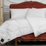 «Trois Couronnes Royal Bamboo» Всесезонное стеганое одеяло. Наполнитель 80% бамбук, 20% кукуруза. ТМ «Trois Couronnes», Швейцария