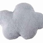 Подушка детская интерьерная Облако Cloud голубая. 100 хлопок. Lorena Canals, Испания