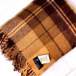 Шерстяной плед с кистями Дакота. 100 новозеландская овечья шерсть. Производитель Klippan Saule (Клиппан Сауле), Латвия