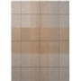6178 Blocks beigebrown шерстяной плед. 100 шерсть беби альпака. «Elvang», Дания