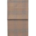 6195 CHECK light greycamel плед 100 шерсть беби альпака. «Elvang», Дания