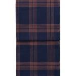 6196 CHECK bluerusty red плед 100 шерсть беби альпака. «Elvang», Дания