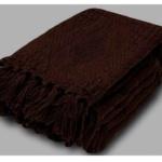 «Шоколад коричневый». Покрывало 100% хлопок. ТМ «Коронатекс», Индия