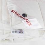 «Sweet Dreams Decke». Легкое пуховое стеганое одеяло. 90% белый гусиный пух, 10% мелкое перо. ТМ «Künsemüller», Германия