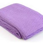 «Ирис фиолетовое». Покрывало 100% хлопок. ТМ «Коронатекс», Индия
