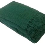 «Лотос темно-зеленое». Покрывало 100% хлопок. ТМ «Коронатекс», Индия