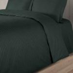 LINE темно-зеленый. Постельное белье сатин 100 хлопок Karna (Карна) Турция